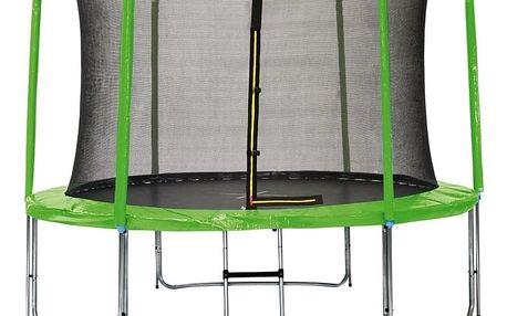 Marimex   Sada krytu pružin a rukávů pro trampolínu 244 cm - zelená   19000779