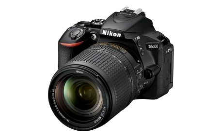 Nikon D5600 + 18-140 AF-S VR černý (VBA500K002)