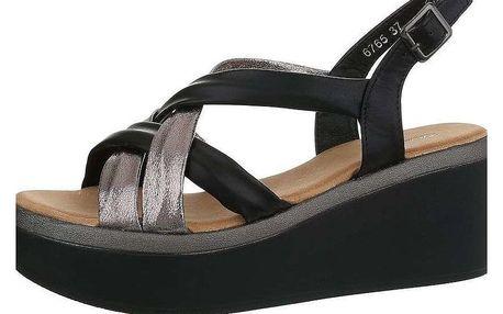 Dámské sandály na klínku