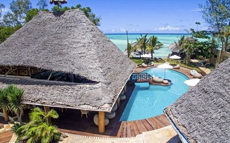 Zanzibar - Tulia Zanzibar Beach na 9 dní, snídaně s dopravou letecky z Prahy