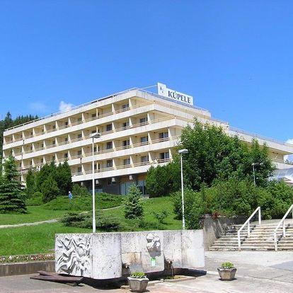 Wellness pobyt v lázních, Vysoké Tatry