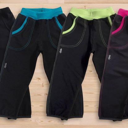 Letní softshellové kalhoty značky Gudo pro děti