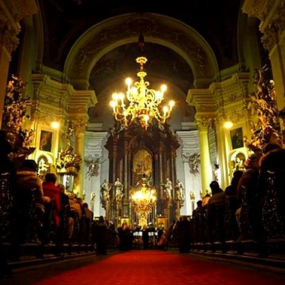 Květnové a červnové koncerty v katerdrále u sv. Klimenta u Karlova mostu.