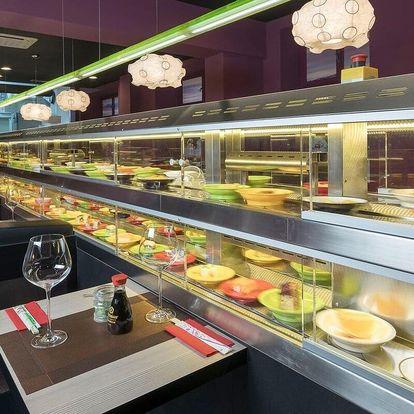 25% sleva na running sushi v restauraci Yosoki na Vinohradech