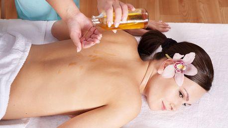 100 minut péče s revitalizační masáží celého těla