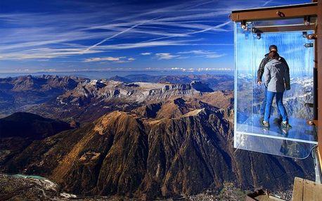 Chamonix, hora Mont Blanc a Ženeva, Francouzské Alpy