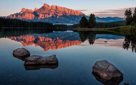 Národní parky západní Kanady - 12 dní, letecky s ubytováním a se snídaní