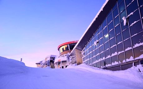 Pobyt v nejvýše položeném hotelu ve Střední Evropě