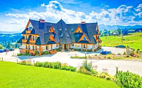 Polské Tatry v Hotelu Redyk Ski&Relax *** s neomezeným wellness a polopenzí