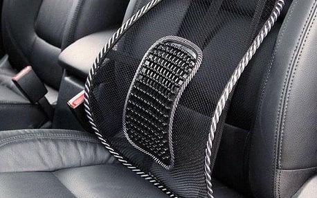 Bederní opěrka na sedačku - černá