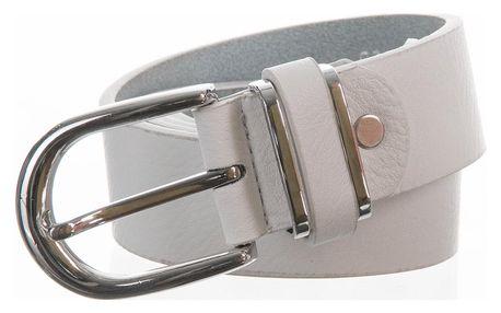 Dámský kožený pásek s designovou sponou