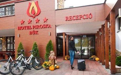 Západní Maďarsko - Bük - Hotel Piroska - 6 dní / 5 nocí s polopenzí
