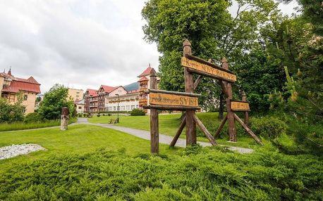 Pobyt jaro, léto a podzim v tatranských lázních, Vysoké Tatry