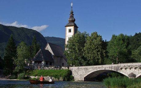 Slovinsko - Bohinjské jezero na 4 dny