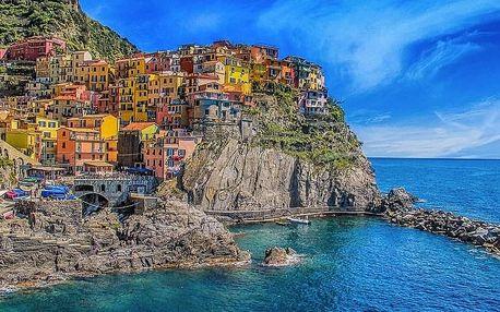 CINQUE TERRE - NEJROMANTIČTĚJŠÍ KOUT ITÁLIE
