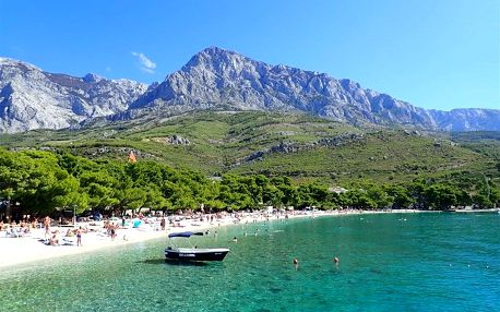 Chorvatsko - Makarska na 8-15 dnů, polopenze