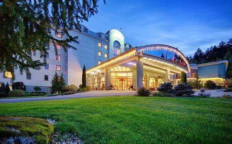 Exkluzivní Wellness a Spa pobyt hotelu Kaskády - klienty jeden z nejlépe hodnocených hotelů, Sliač - Sielnica