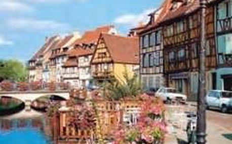 Romantické kouzlo Alsaska - kraj vína a chryzantém - 5 dní s dopravou, ubytováním a snídaní