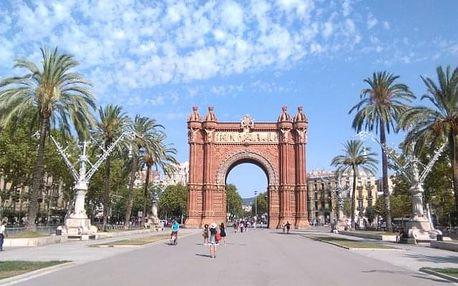 Španělsko - Barcelona letecky na 4-12 dnů, polopenze