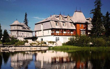 Letní rodinná dovolená na Štrbském Plese, Vysoké Tatry