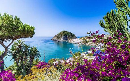 Itálie - Ischia autobusem na 5 dnů, snídaně v ceně