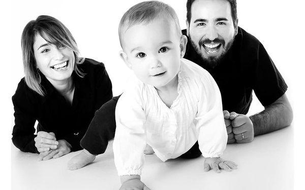 Rodinné focení v ateliéru2