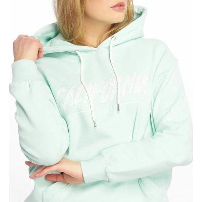 Just Rhyse / Hoodie Santa Monica in turquoise XL