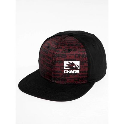 Dangerous DNGRS / Snapback Cap Flush in red One Size