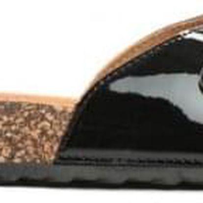 Dámské černé pantofle Elenice 6222