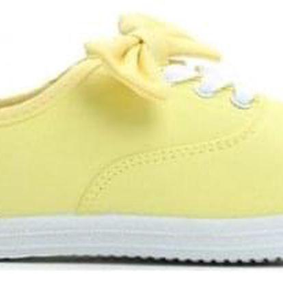 Dámské žluté tenisky Wille 078