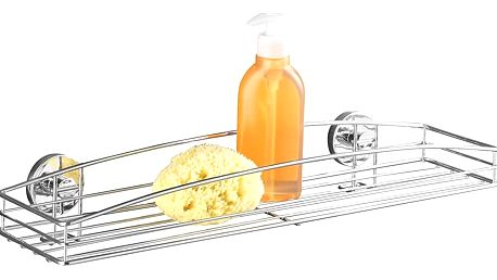 Koupelnová polička,MILAZZO, Vacuum-Loc - chromovaná ocel, WENKO