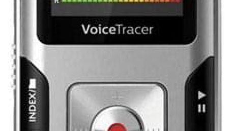 Diktafon Philips DVT4010 (855971006205) stříbrný
