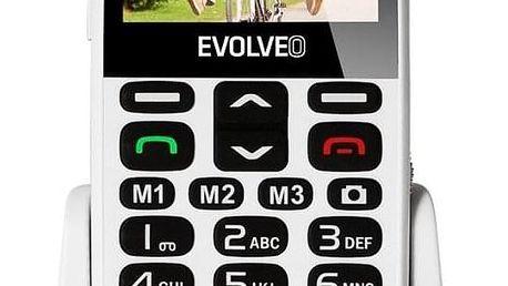 Evolveo EVOLVEO EasyPhone XD pro seniory bílý (EP-600-XDW)