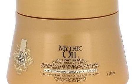 L´Oréal Professionnel Mythic Oil 200 ml maska pro normální a jemné vlasy pro ženy