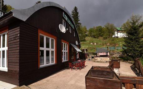 Pobyt ve Špindlerově Mlýně pro dva s polopenzí a saunou