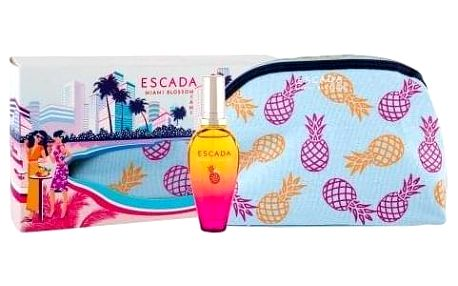 ESCADA Miami Blossom dárková kazeta pro ženy toaletní voda 30 ml + kosmetická taška
