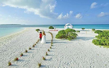 Maledivy, Jižní Ari Atol, letecky na 10 dní plná penze