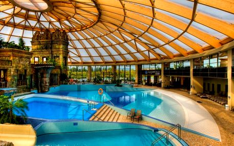 Hotel v Budapešti přímo v největším aquaparku ve střední Evropě