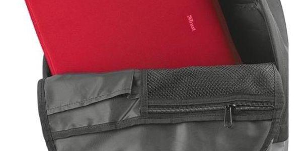 Pouzdro Trust Primo Soft pro 13,3'' červené (21253)2