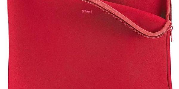 Pouzdro Trust Primo Soft pro 13,3'' červené (21253)5