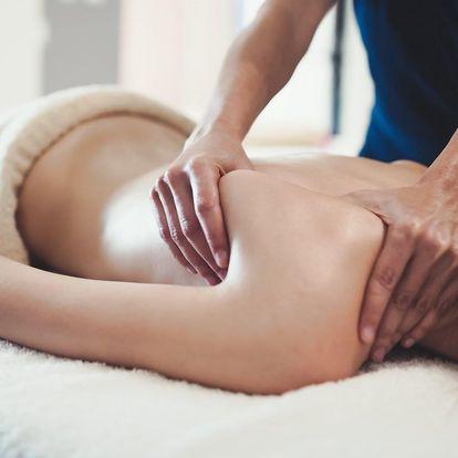 Zdravotní nebo relaxační masáž: 60 či 90 minut