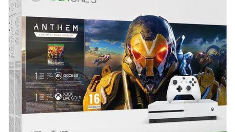 Microsoft Xbox One S 1 TB + Anthem: Legion of Dawn Edition (234-00947)