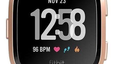 Fitbit Versa (NFC) - Peach / Rose Gold Aluminum (FB505RGPK-EU)