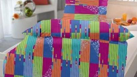 Jahu krep povlečení Bruno Color 140x200 70x90