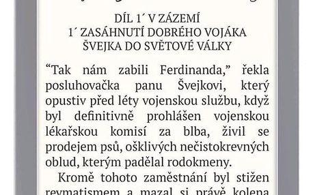Čtečka e-knih Pocket Book 627 Touch Lux 4 stříbrná (PB627-S-WW)