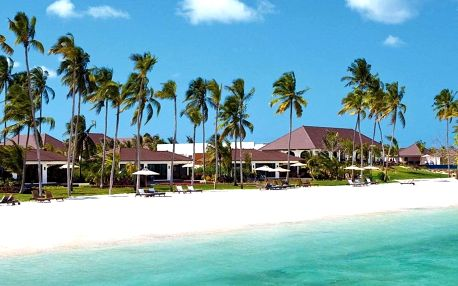 Zanzibar - The Residence na 9 dní, polopenze s dopravou letecky z Prahy