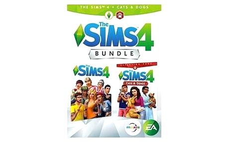 EA PC THE SIMS 4 + CATS & DOGS CZ/SK Bundle (5030944122747)