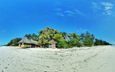 Zanzibar - Twisted Palms & Lodge (Bwejuu) na 9 dní, all inclusive s dopravou letecky z Prahy
