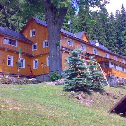Zrekonstruovaný horský penzion s rodinnou atmosférou