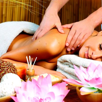 6 druhů thajských masáží včetně variant pro páry